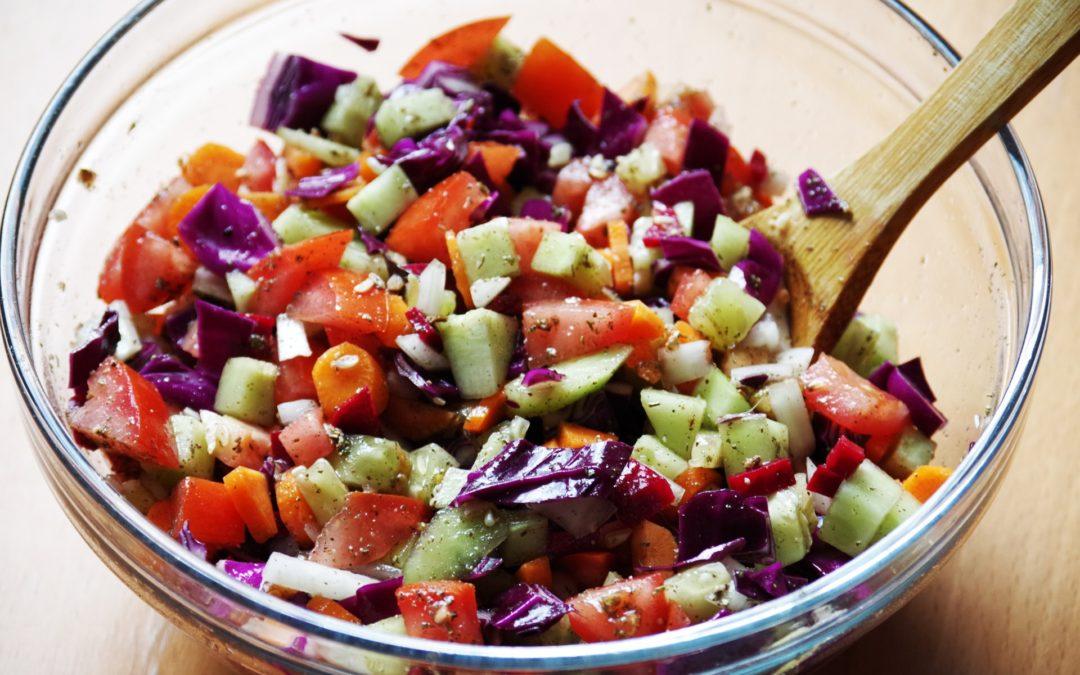 Recette salade crudités diététique