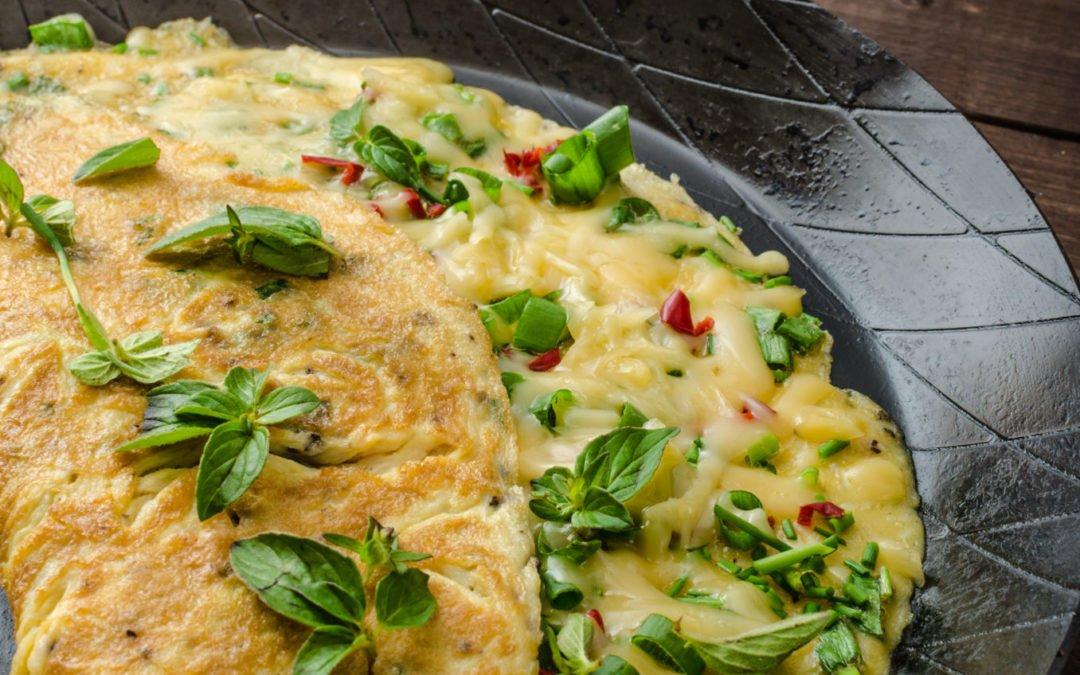 Recette d'Omelette aux herbes