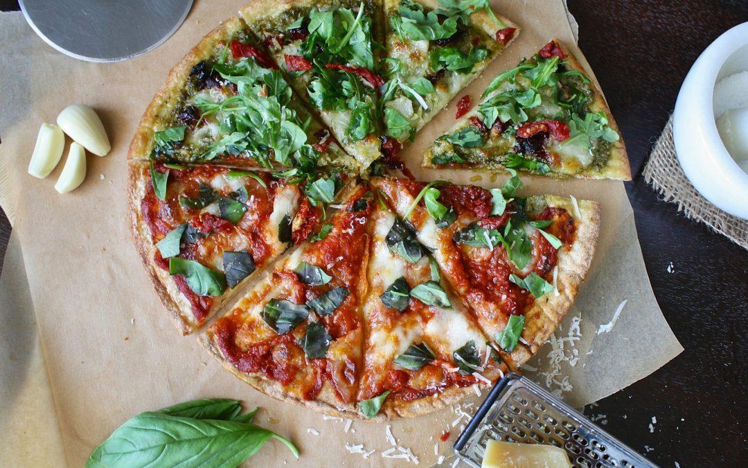 Recette de Pizza végétarienne