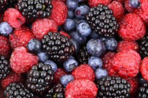 Fruits rouges anti oxydants